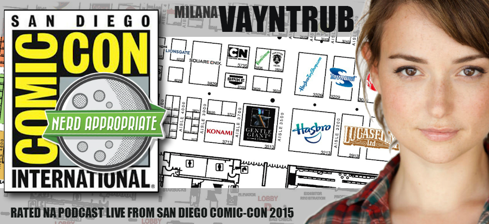Rated NA: Live With Milana Vayntrub From San Diego Comic Con 2015