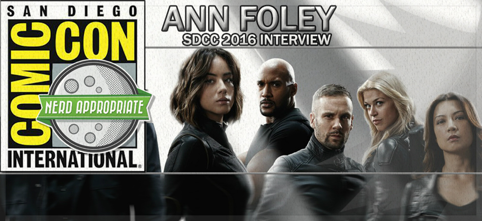 Rated NA Special: Ann Foley @ SDCC 2016