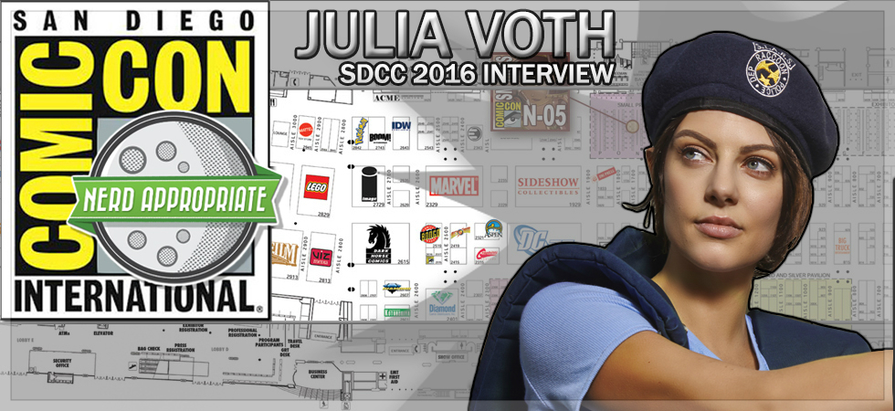Rated NA Special: Julia Voth @ SDCC 2016