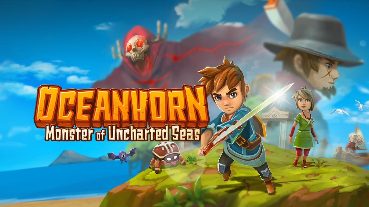 Oceanhorn Artwork Ocean 720p