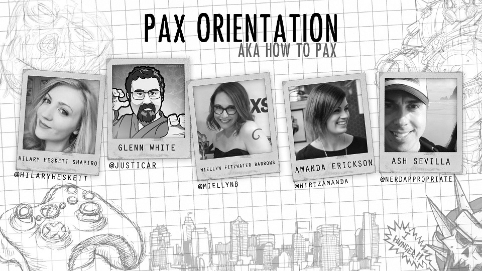 Rated NA 285: PAX West 2017: Orientation